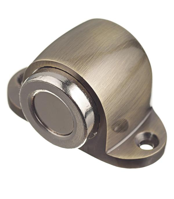 Упор дверной магнитный Palladium Стопор 02 - М AВ (античная бронза) стопор дверной palladium 01 цам цвет антик бронза