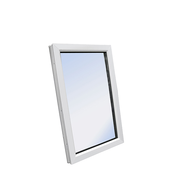 Окно пластиковое VEKA WHS Halo 1160х1000 мм 1 створка глухая