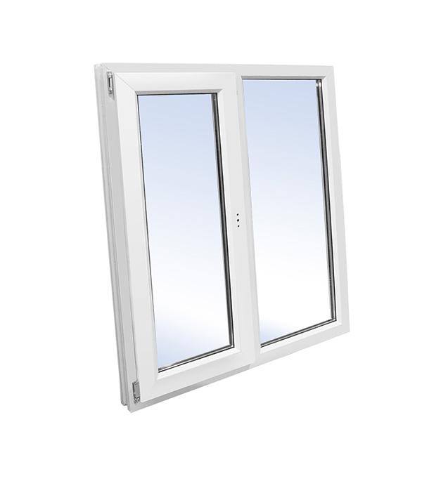 Окно пластиковое VEKA WHS Halo 1160х1000 мм 2 створки правая глухая левая поворотно-откидная окно деревянное 1000х1000 мм 2 створки