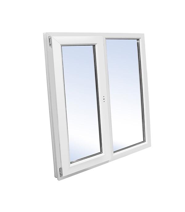 Окно пластиковое VEKA WHS Halo 1160х1200 мм 2 створки правая глухая левая поворотно-откидная окно деревянное 1000х1000 мм 2 створки
