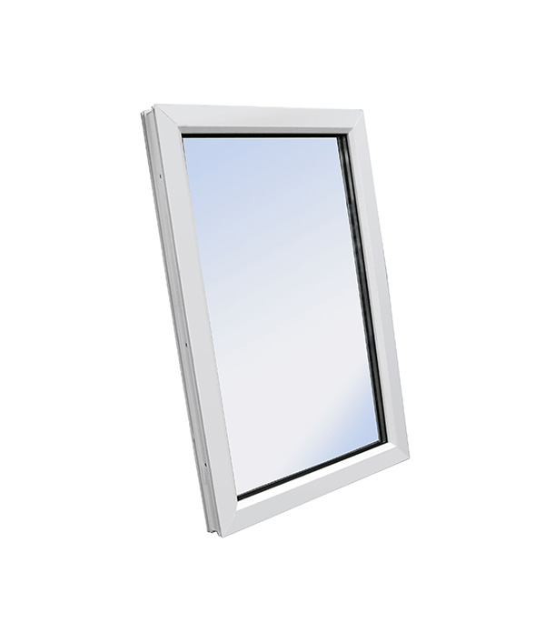 Окно пластиковое VEKA WHS Halo 1160х1200 мм 1 створка глухая фото