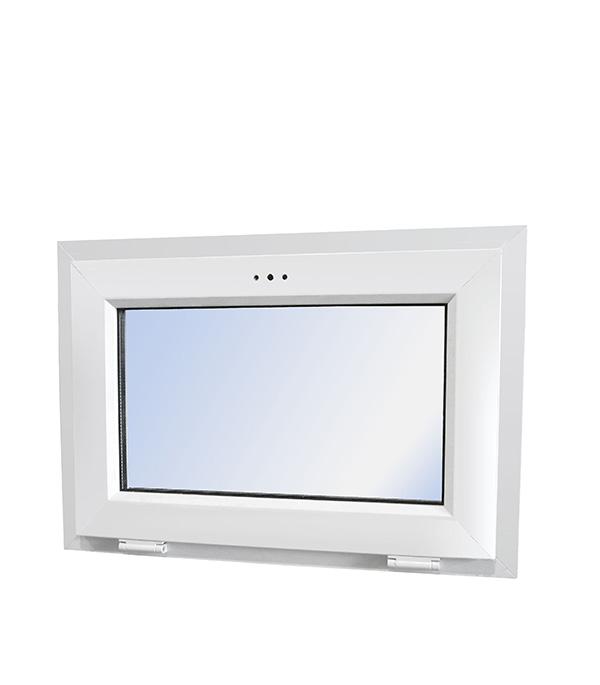 Окно пластиковое VEKA WHS Halo 500х700 мм 1 створка откидная фрамуга фото