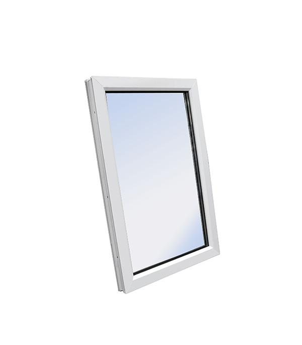 Окно пластиковое VEKA WHS Halo 1160х600 мм 1 створка глухая