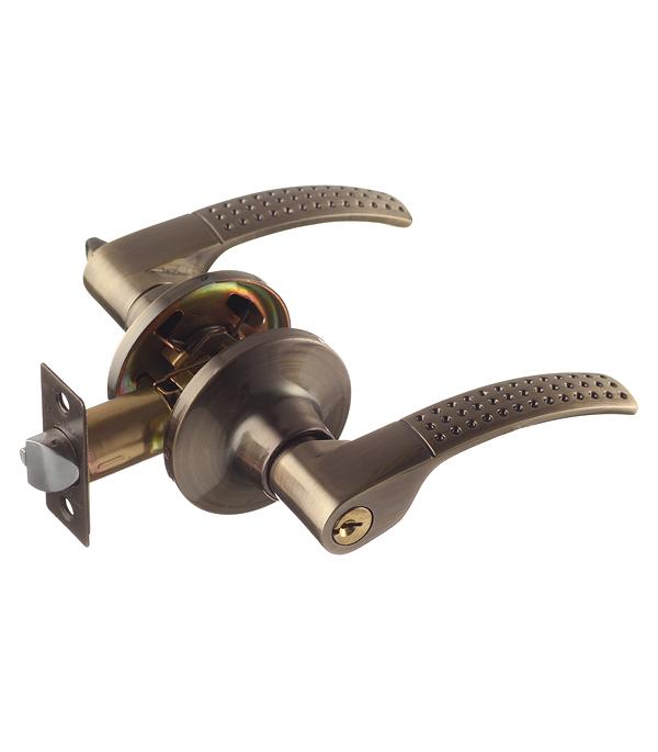 Ручка-защелка Palladium 3903 AB ET с ключом и фиксатором (античная бронза)