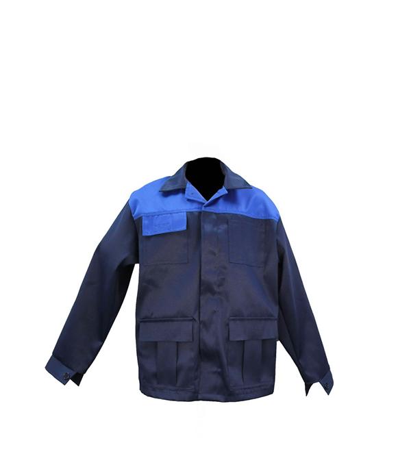 Куртка рабочая Мастер 56-58 рост 182-188 см цвет темно-синий фото