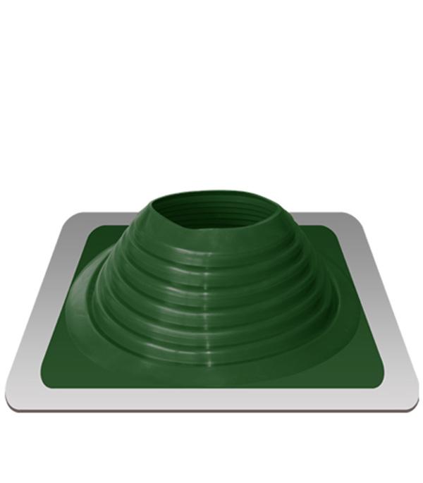 Уплотнитель кровельный №8 силикон 178-330 мм зелёный проходник для крыш 425х425 мм d 178 330 мм зеленый