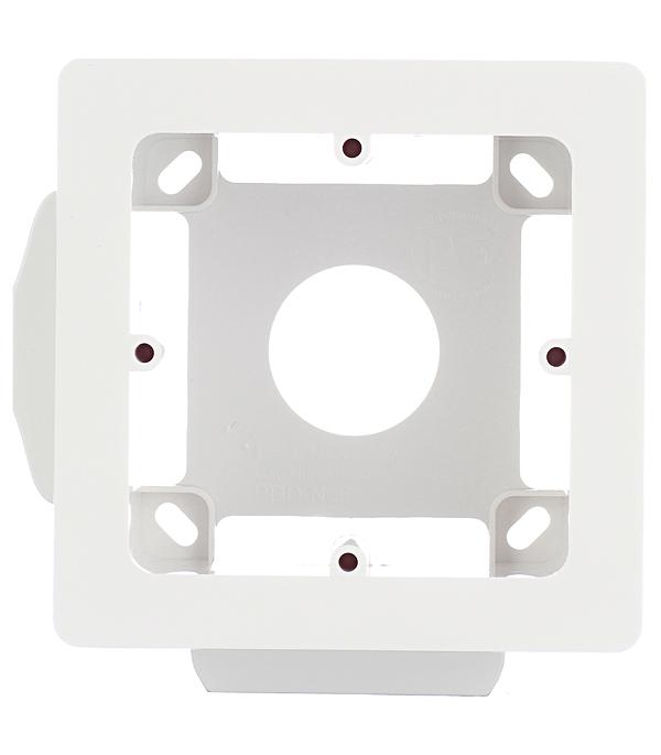 Коробка монтажная Viva для кабель-каналов ДКС универсальная 2 модуля белая дкс dkc viva бел выключатель однополюсный 2мод 45021