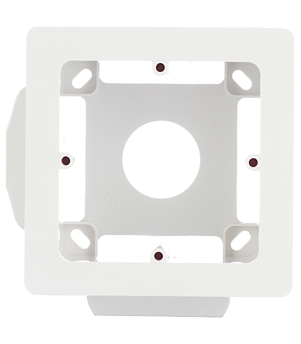 цена на Коробка монтажная Viva для кабель-каналов ДКС универсальная 2 модуля белая