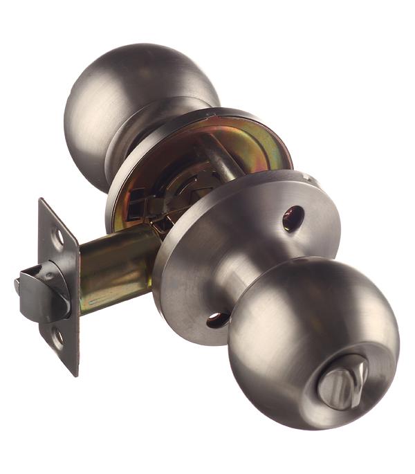 Ручка-защелка ФЗ 6072 SN ET с ключом и фиксатором (матовый никель)