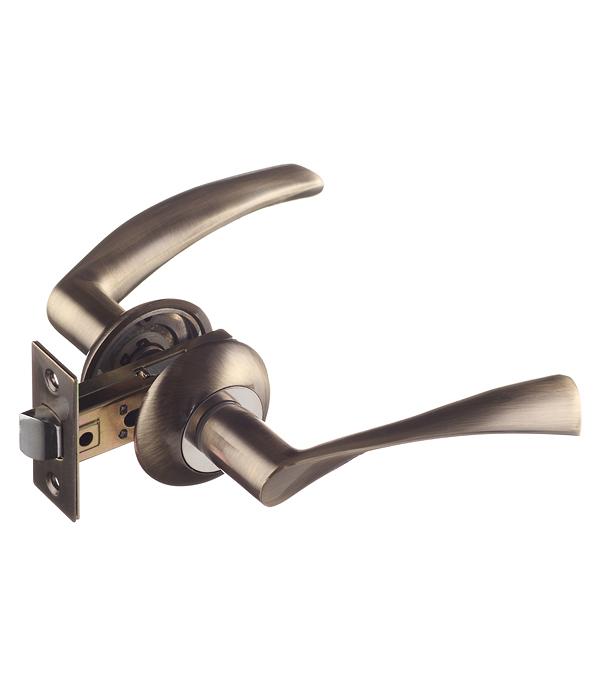 Комплект фурнитуры для двери ФЗ FZ SET 03-C 100 2H AB (античная бронза)
