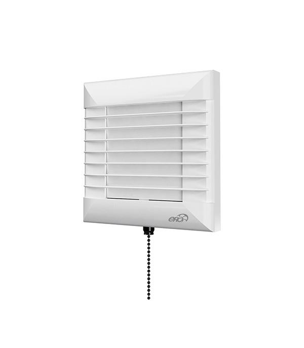 Вентилятор осевой ERA EURO автоматические жалюзи датчик влажности тяговый выключатель D100 цена и фото