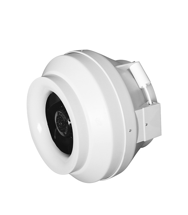 Вентилятор канальный центробежный DiCiTi CYCLONE EBM d100 мм белый