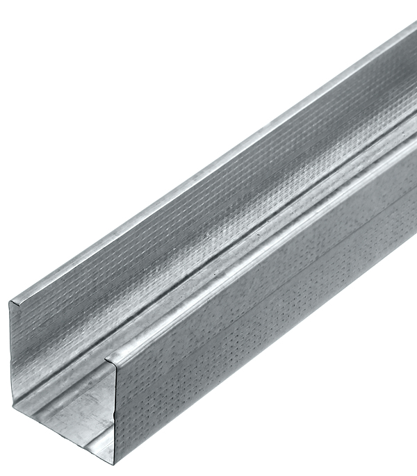 Профиль стоечный Стандарт 50х50 мм 3 м 0.50 мм профиль стоечный стандарт 50х50 мм 4 м 0 50 мм