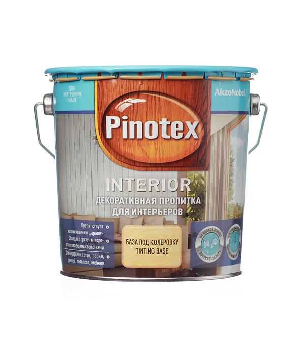 Антисептик Pinotex Interior декоративный для дерева бесцветный 2,7 л