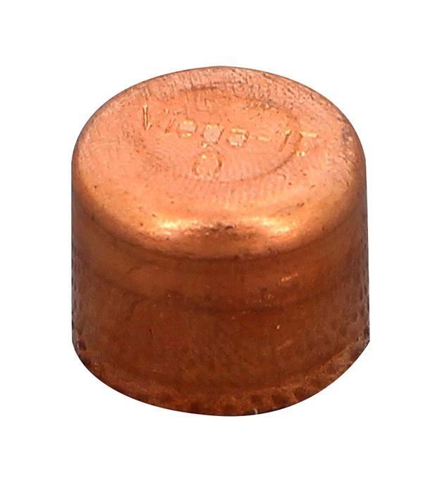 цена на Заглушка пайка медь 15 Viega