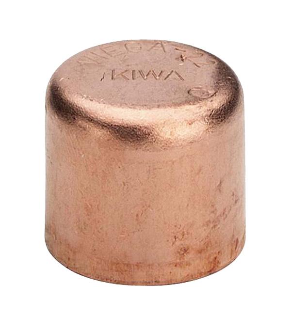 Заглушка Viega под пайку 22 мм медная