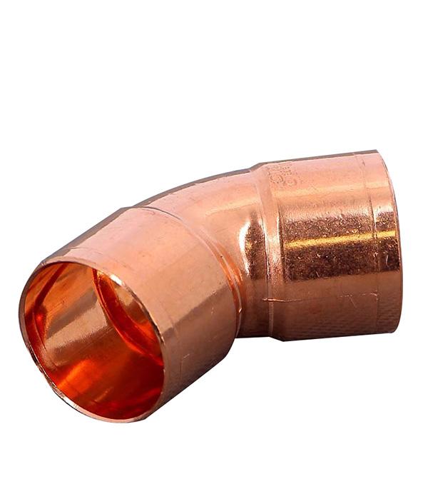 Угол двухраструбный 45° пайка медь 28 Viega все цены