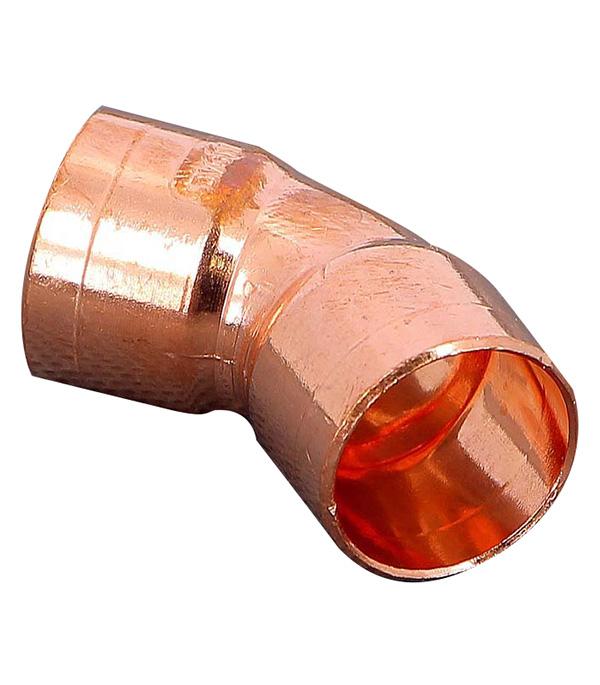 Угол двухраструбный 45° пайка медь 18 Viega фото