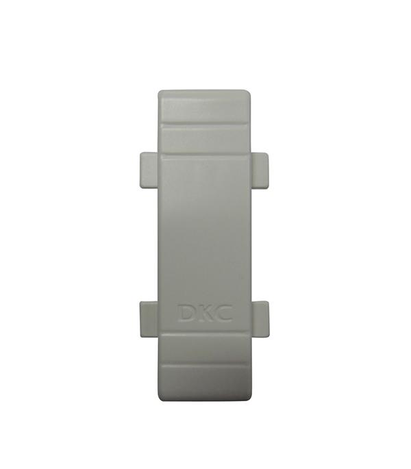 цена на Соединение на стык крышки кабель-канала ДКС 80х40 мм белое