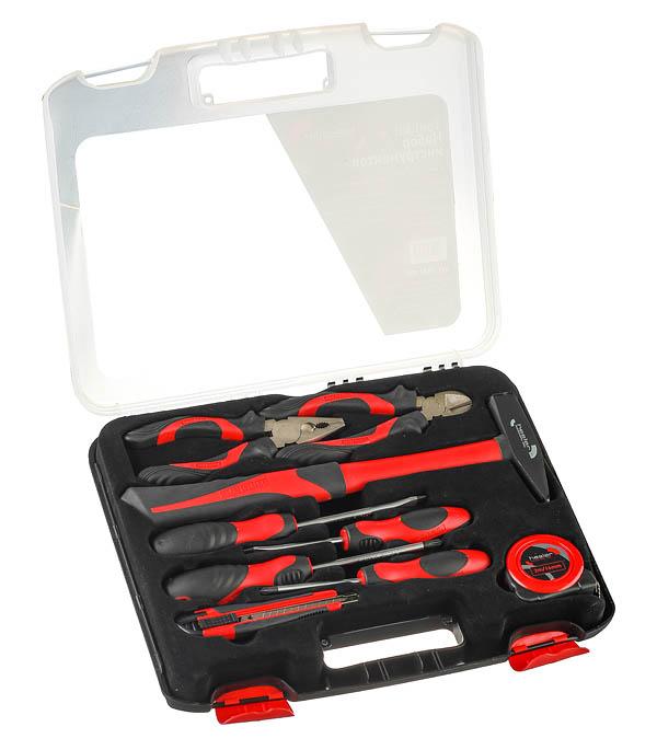 Набор инструментов Hesler TK01-800 (9 шт.) отвертка крестовая bahco ph2 х 100 мм