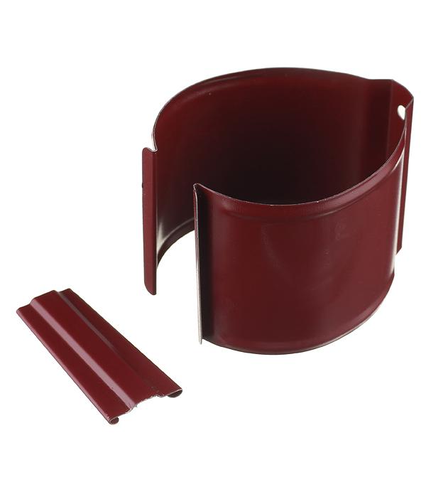 Кронштейн хомут трубы на кирпичную стену металлический с крепежом Grand Line d90 мм красное вино ladies pu leather wallets zipper