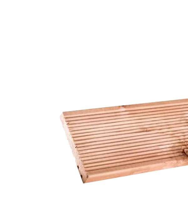 Доска террасная 27х143х4000 мм лиственница сорт