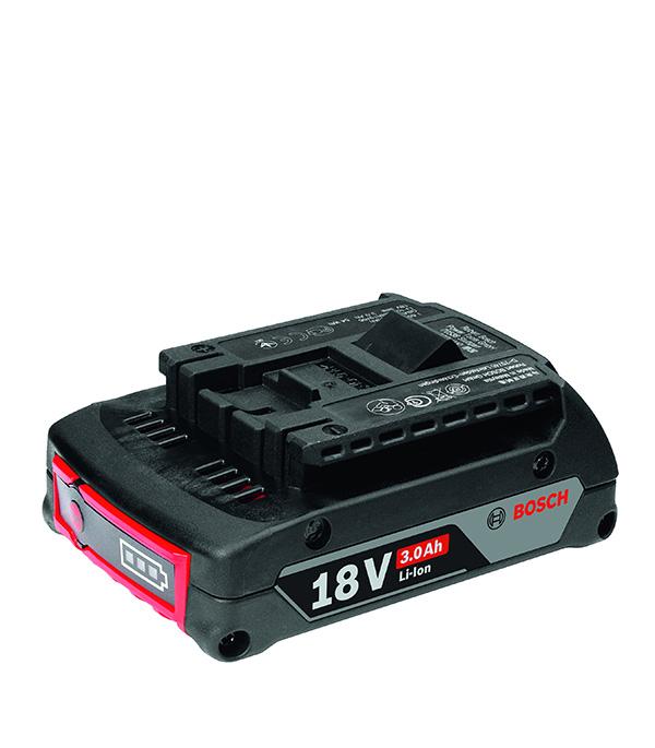 Аккумуляторная батарея BOSCH 18.0В Li-ion 3.0 Ач аккумуляторная баттарея bosch аккумулятор 18 li 1600z0003u