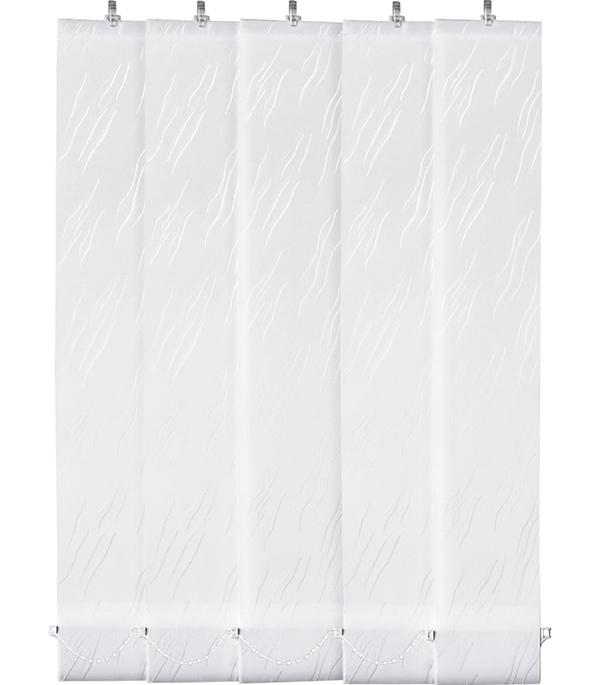 Жалюзи вертикальные 180 см Орестес белый 5 шт.