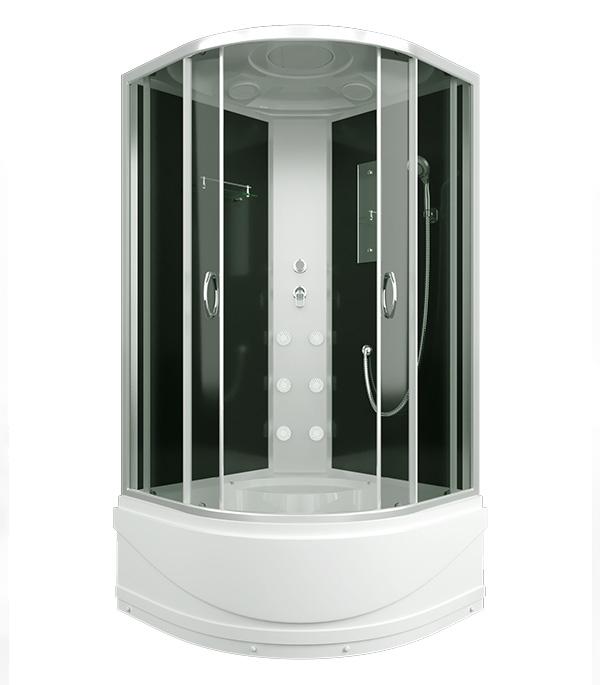 цены на Душевая кабина ERLIT ER3509TPF-C4-RUS 90х90х215см с высоким поддоном с крышей стекло тонированное 4мм в интернет-магазинах