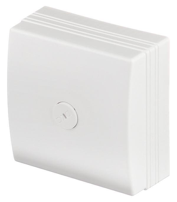 цена на Коробка распределительная для кабель-каналов ДКС белая