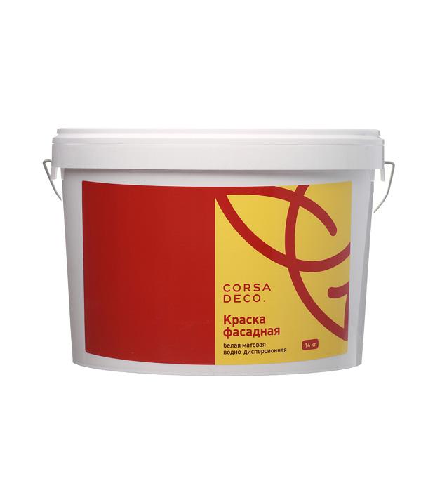 Краска водно-дисперсионная фасадная Corsa Deco 14 кг цена в Москве и Питере