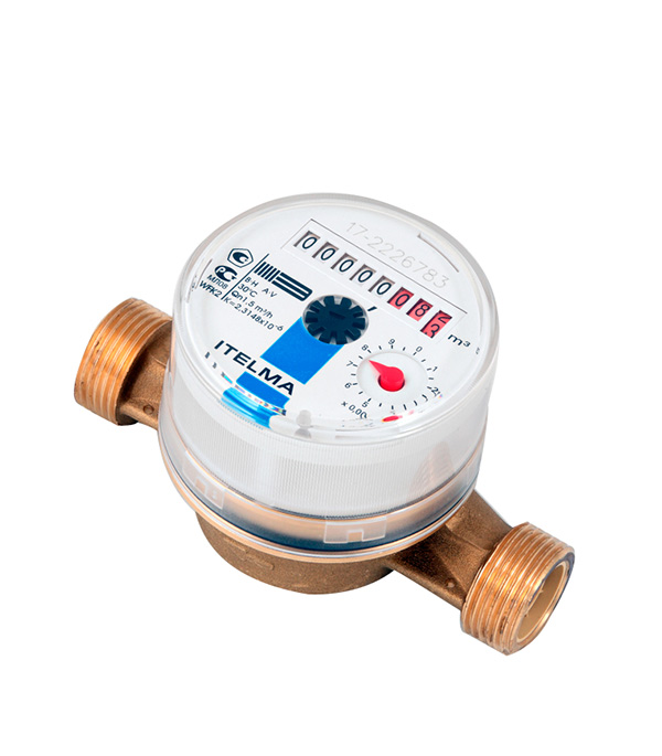 Счетчик холодной воды WFK20 D110 Ду=15 мм  L=110 мм цена