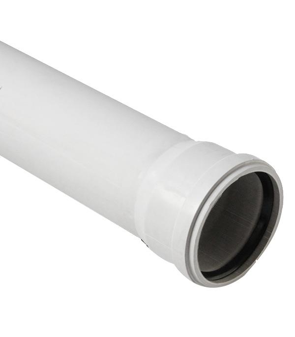 Труба канализационная Polytron Stilte Plus d58x1500 мм пластиковая шумопоглощающая для внутренней канализации