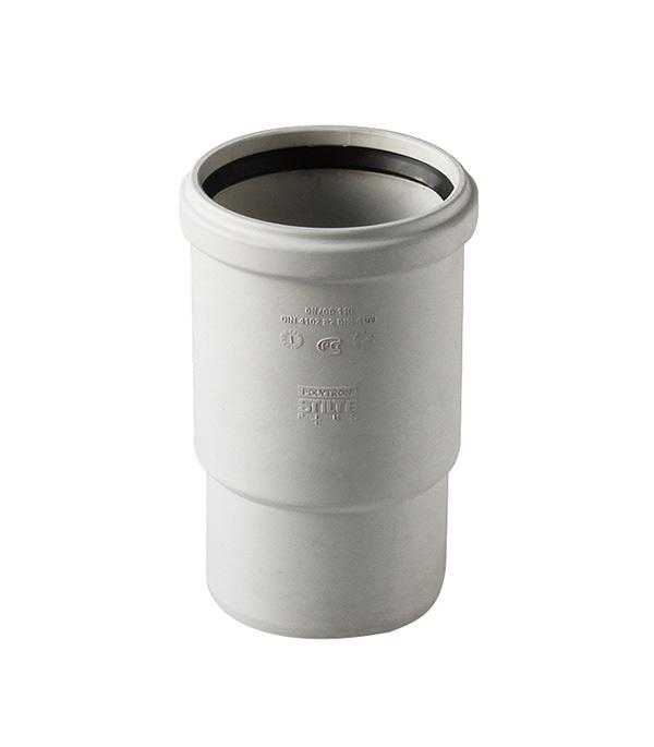 Патрубок Polytron Stilte Plus d110 мм пластиковый шумопоглощающий для внутренней канализации фото