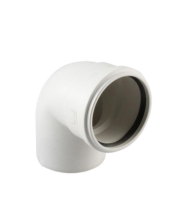 Отвод Polytron Stilte Plus d58 мм 87,5° пластиковый шумопоглощающий для внутренней канализации фото