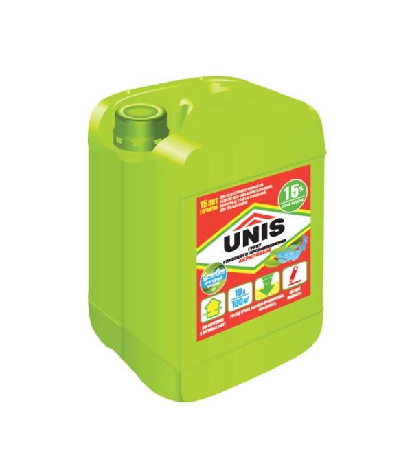 Грунт UNIS глубокого проникновения укрепляющий 10 л
