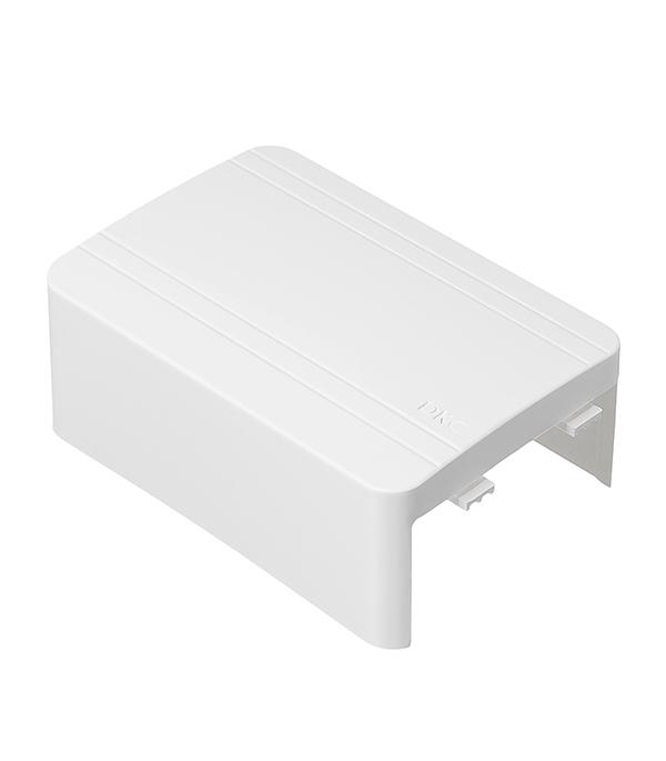 цена на Тройник для кабель-канала ДКС 80х40 мм белый