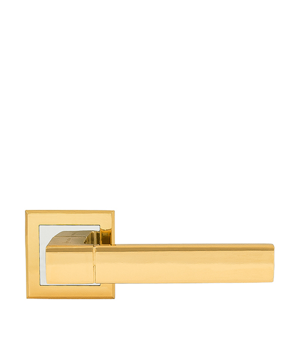 Дверная ручка Palladium City A Dakota GP золото дверная ручка palladium revolution sofia sg gp матовое золото золото