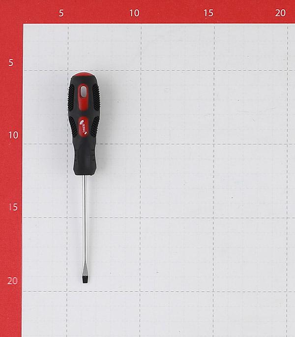 Отвертка плоская SL3 75 мм Hesler