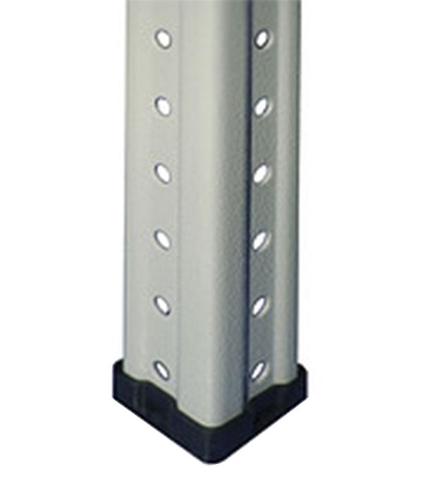 Подпятник для металлического стеллажа КМ 10x100x100 мм (4 шт.)