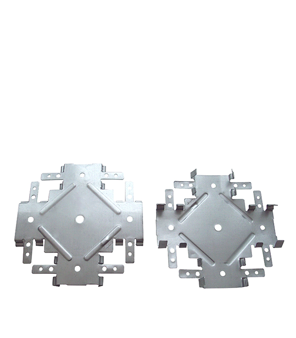 Соединитель одноуровневый краб Оптима 60х27 0.7 мм подвес прямой 60х27 оптима 0 7 мм