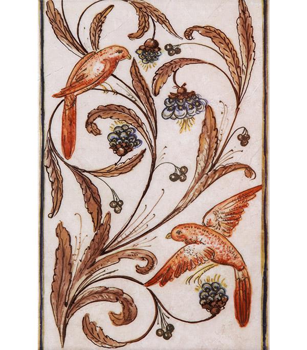 Плитка декор Вилла Флоридиана 200х300х6.9 мм бежевая декор kerama marazzi фраскати ar81 12026 25x75