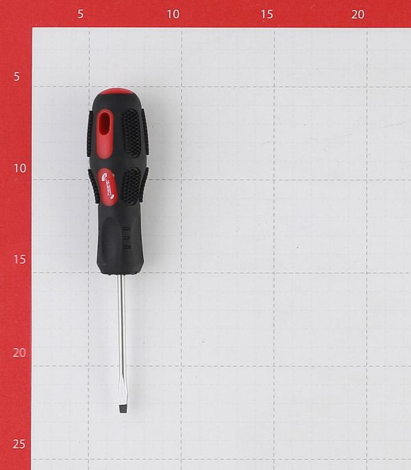 Отвертка плоская SL4 75 мм Hesler