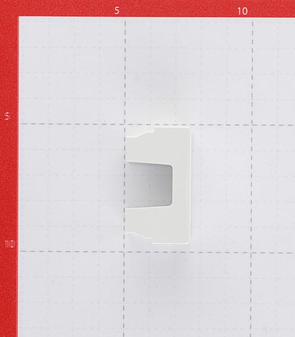 Заглушка для кабель-канала DKC Viva 45016 белая под 1 модуль фото