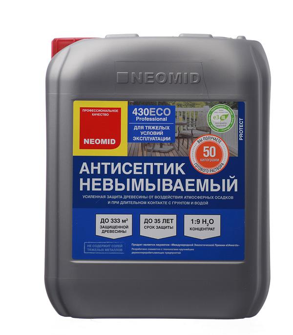 Антисептик Neomid 430 Еco невымываемый для дерева биозащитный концентрат 1:9 5 кг антисептик neomid 430 eco концентрат невымываемый 1кг