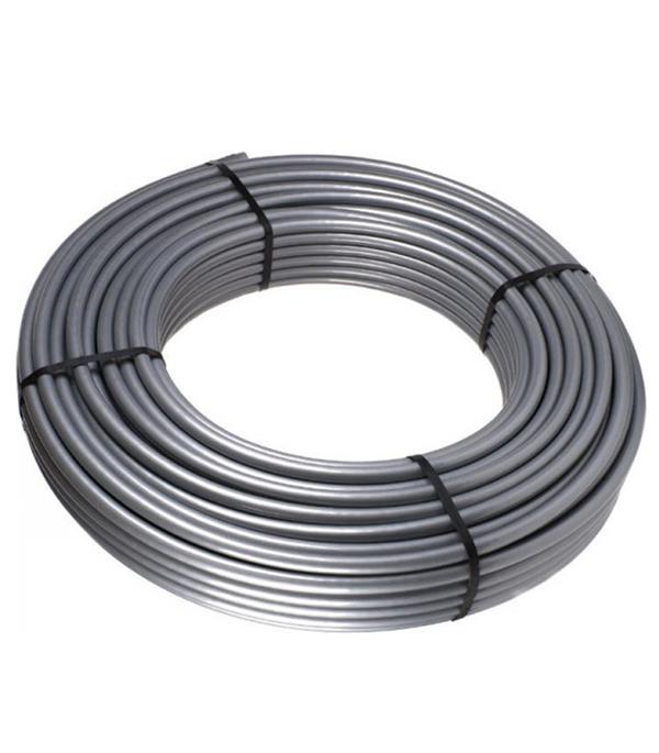Труба полиэтиленовая стабильная Stout PE-Xc/Al/PE-Xc 16x2,6 мм серая   бухта 100 м