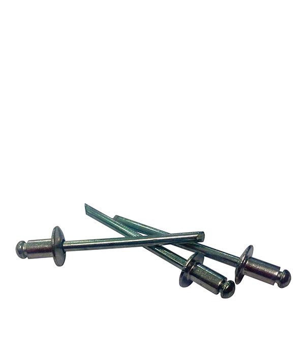 Заклепка вытяжная 4.0x8 мм алюминий/сталь (1000 шт.) капсулы для монет leuchtturm caps диаметр 20 мм 10 шт
