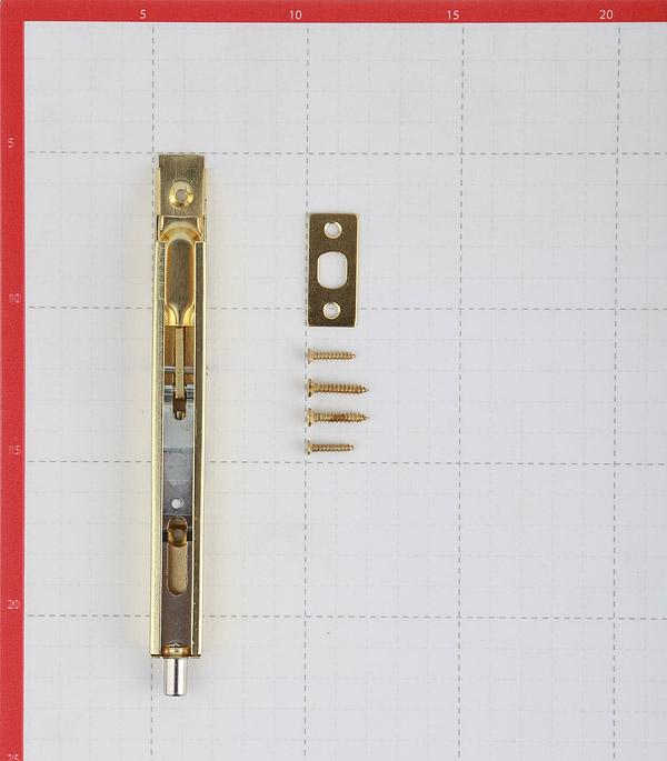 Шпингалет Adria LX-160 GP 160 мм золото