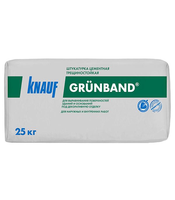 Штукатурка цементная Knauf Грюнбанд теплоизоляционная 25 кг стоимость