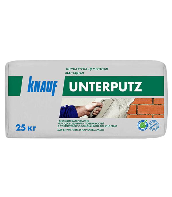 цена на Штукатурка цементная фасадная Knauf Унтерпутц 25 кг